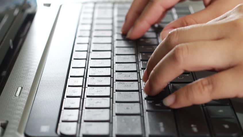 Typing keyboard | Shutterstock HD Video #7547326