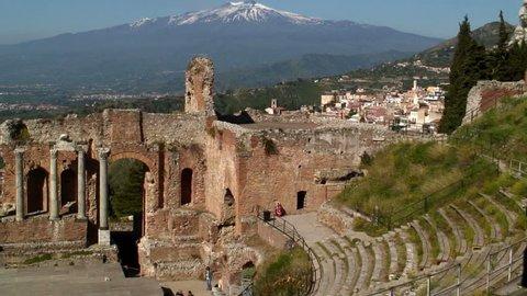 The Greek Theatre Taormina Sicily