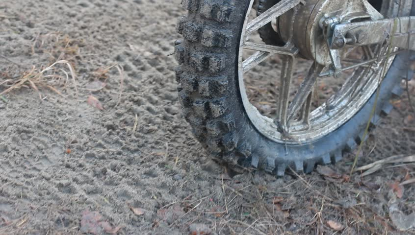 bike on the offroad