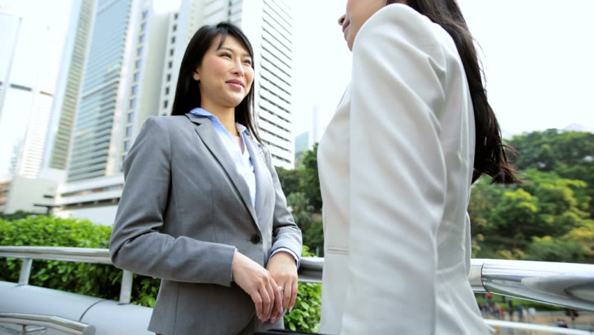 Asian american business women