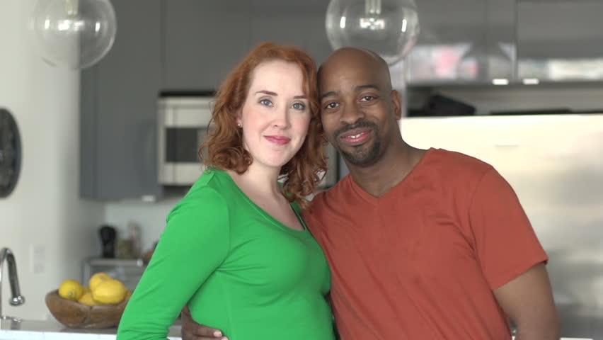 Black Woman And White Man Couple
