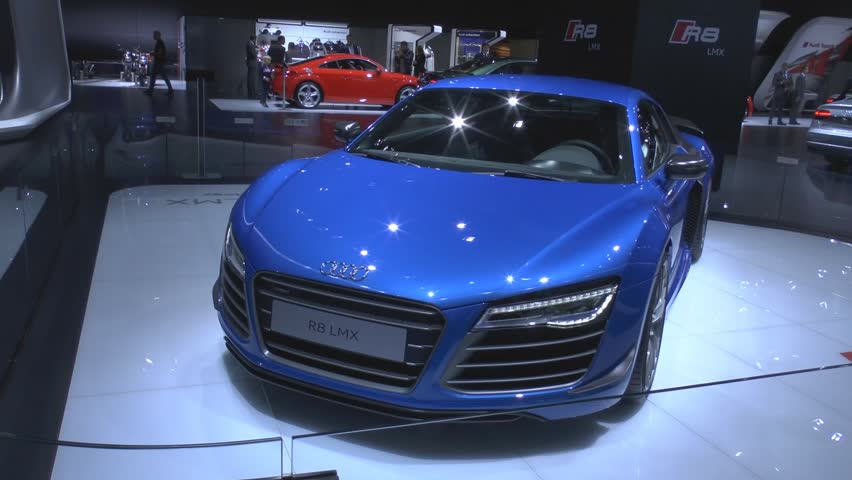 MOSCOW, August 28: Audi R8 LMX The Worldu0027s First Serial Car With Lasers  Lights Design Inspirations