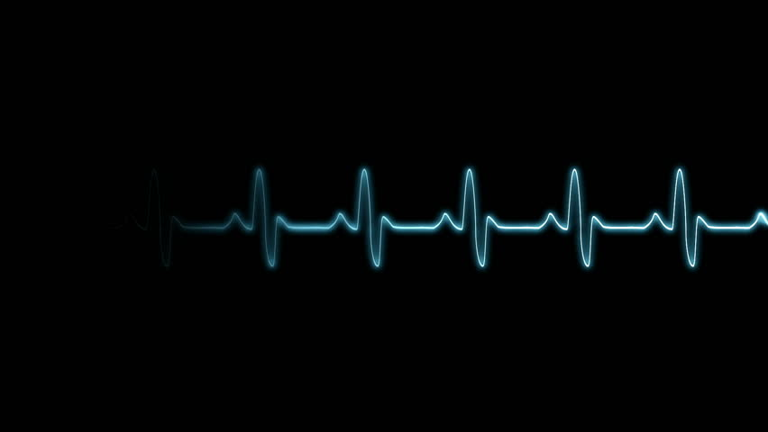 High Definition CGI motion backgrounds ideal for editing, led backdrops or broadcasting featuring particle animation of a heartbeat monitor.