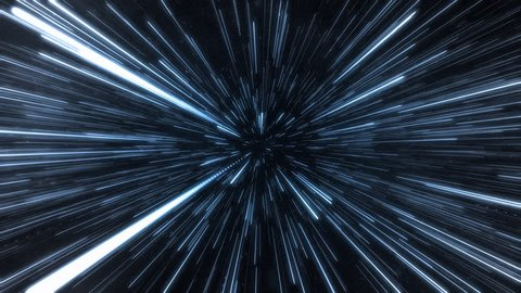 Hyperspace jump.