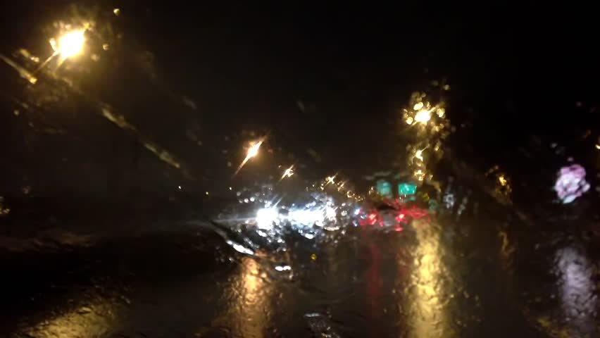 Image result for driving at night in the rain