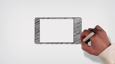 Cell Phone Whiteboard Stop-Motion Style Animation