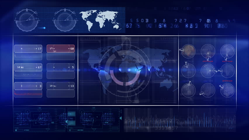 Abstract technology background LOOP | Shutterstock HD Video #8434510