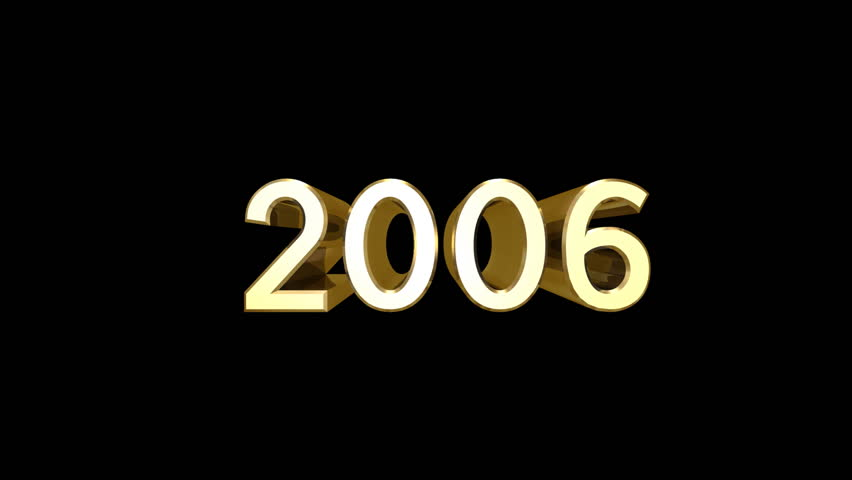 2006 Years Flying logo. | Shutterstock HD Video #846506