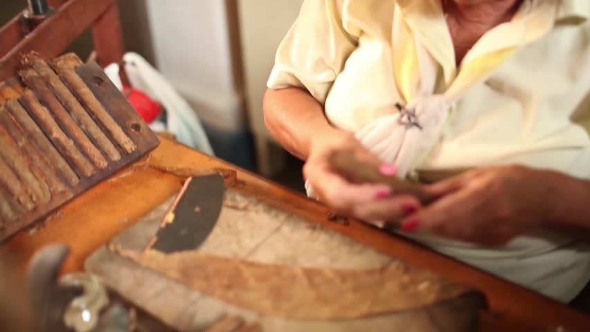 Cuban Women Rolling Cigars  Traditional Stock Footage Video (100%  Royalty-free) 8475286 | Shutterstock