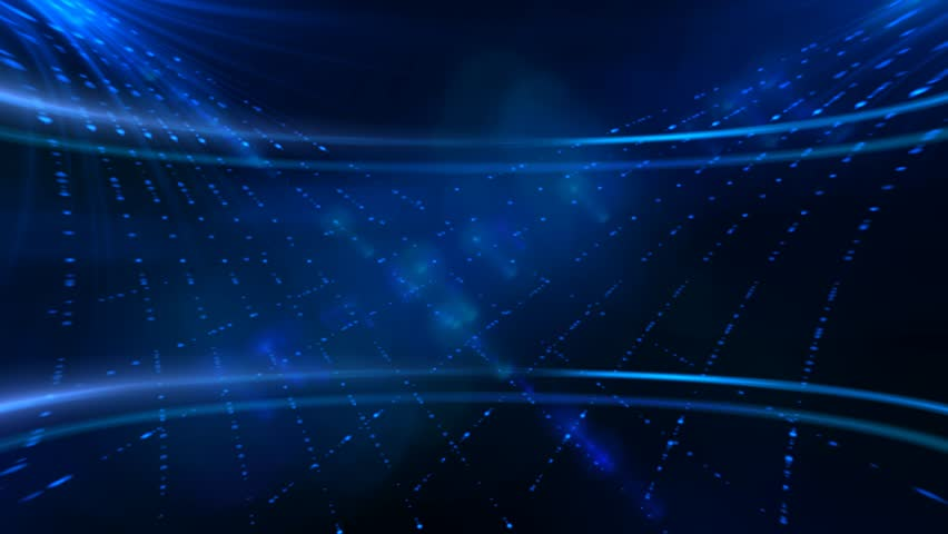 Blue abstract lights abstract motion animation background | Shutterstock HD Video #8519866