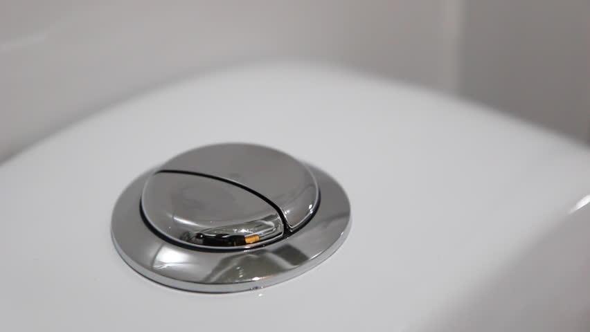 Flushing Toilet Dual Flush Button Toilet Flush Toilet