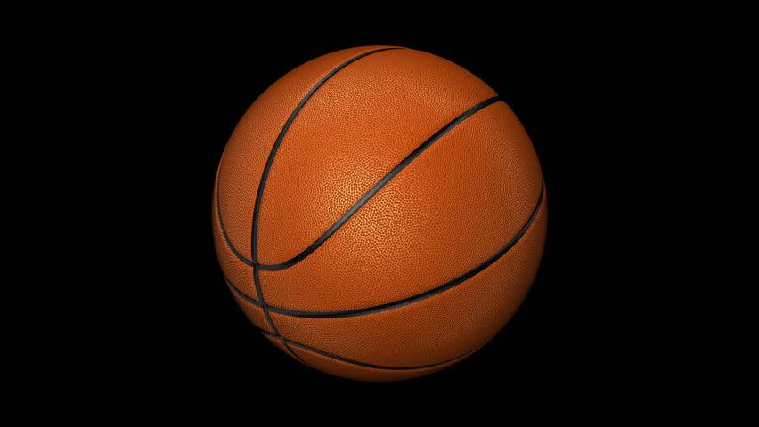 Black basketball texture