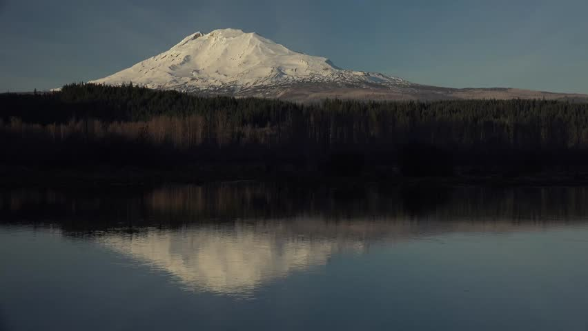 Mount Adams, Washington, beautiful snow capped mountain