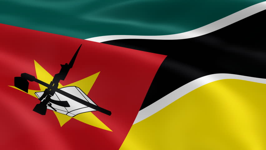 Mozambican Flag in the Wind  Stock Footage Video (100% Royalty-free) 876016  | Shutterstock