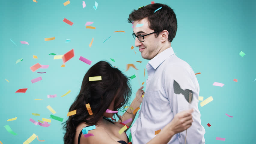 Costume Party Stock Footage Video  Shutterstock-6507