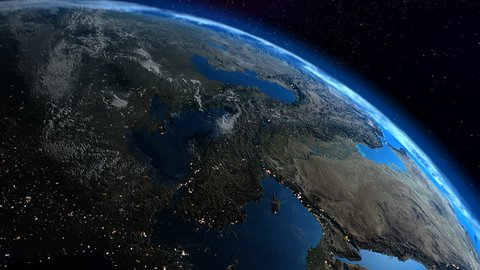 Earth planet loop, La Tierra loop. UltraHD