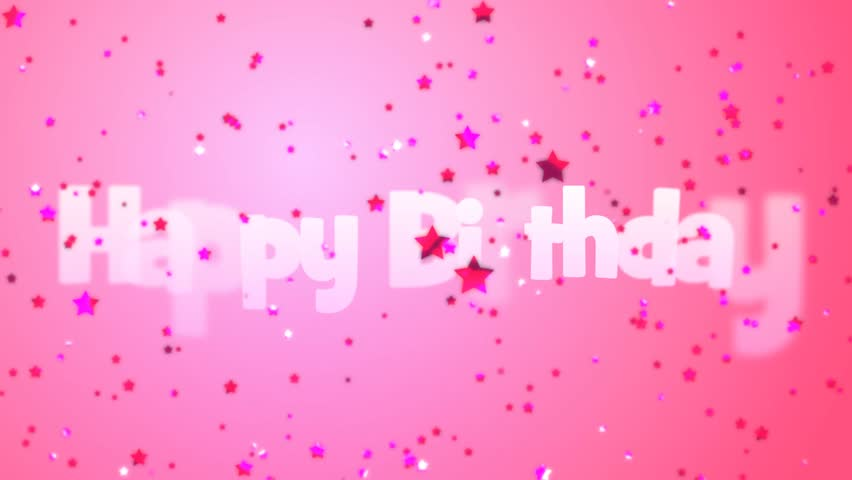 Birthday pink background images
