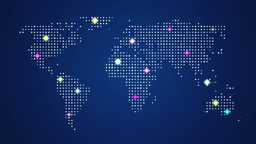 Stock video of abstract world map with route lines 8994466 stock video of abstract world map with route lines 8994466 shutterstock gumiabroncs Image collections