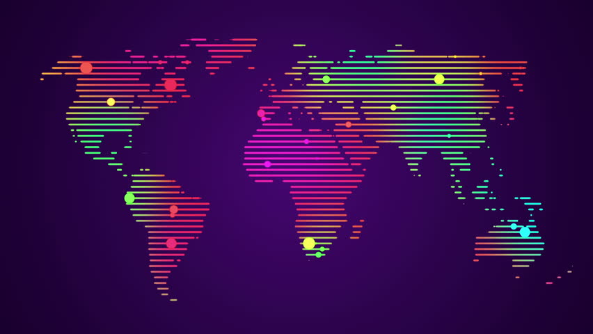 Stock video of abstract world map with colorful dots 8995186 stock video of abstract world map with colorful dots 8995186 shutterstock gumiabroncs Image collections