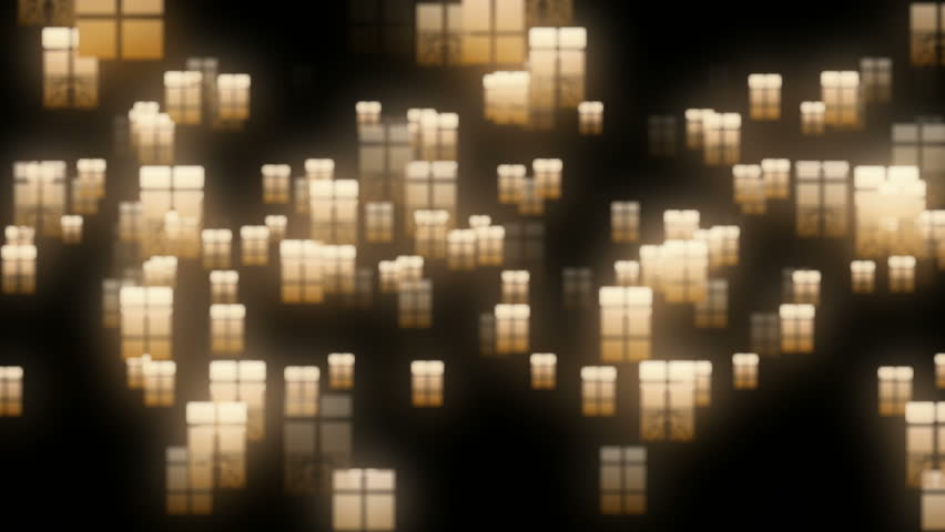 Abstract glowing windows 