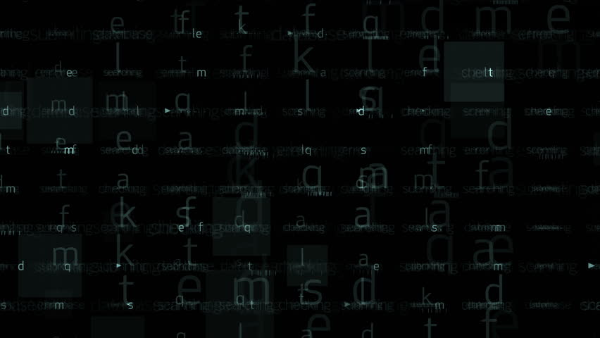 4k Abstract alphabet character matrix background,computer letters tech,Big data files internet backup storage,mathematics numbers,input search accounts,programmer writing software backdrop. 0569_4k
