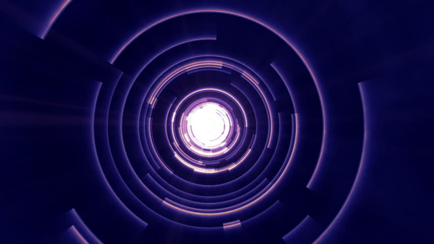 Science Fiction Futuristic Time Travel Loop | Shutterstock HD Video #9338756