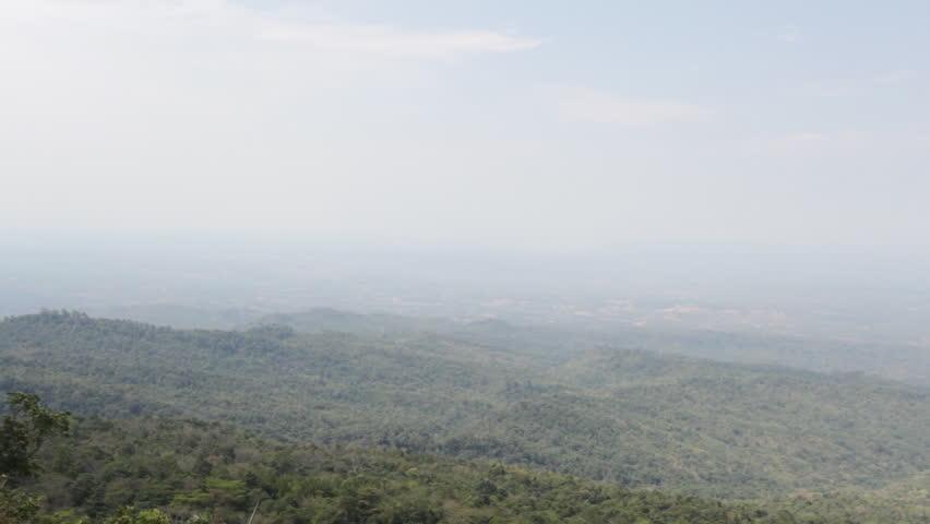 Beautiful angle Phu Hin Rong Kla National Park at thailand, dolly shot | Shutterstock HD Video #9433676