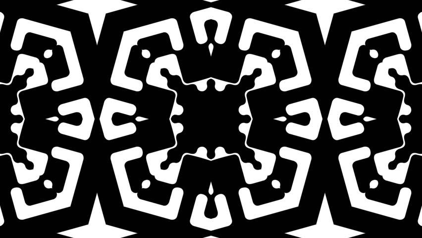 Black & White Motion Background Loop