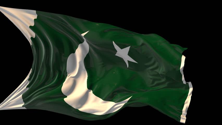 pakistan flag waving animated