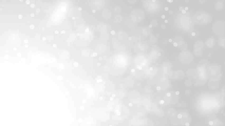 white glitter background seamless loop winter theme