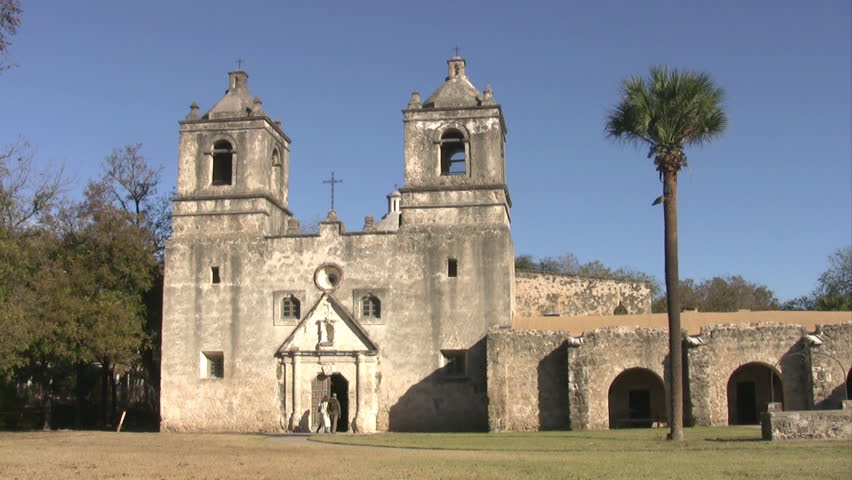 Video Of The Old Spanish Mission Concepcion In San Antonio