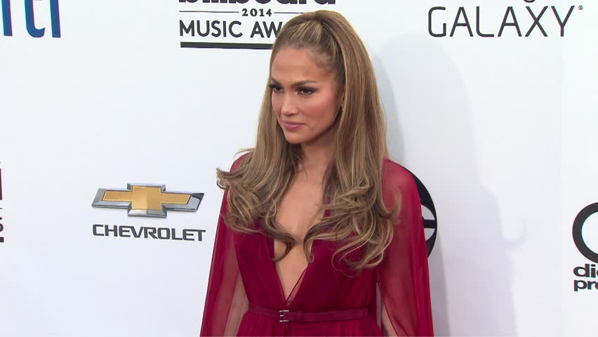 Las Vegas, CA - May 18,2014: Jennifer Lopez at Billboard Music Awards 2014, MGM Grand Garden Arena