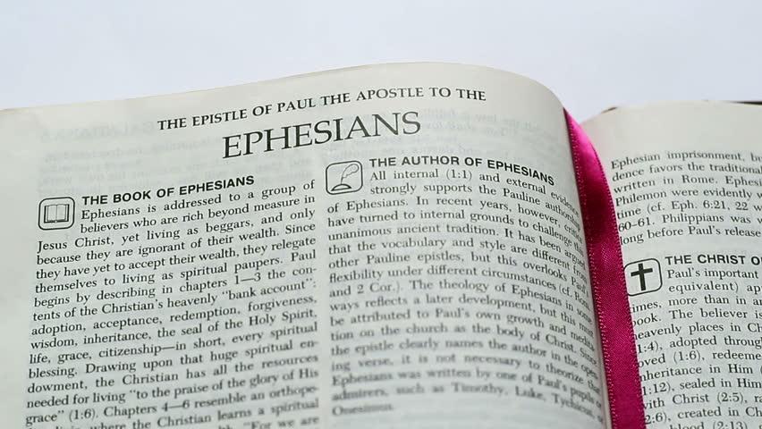 Header of Ephesians