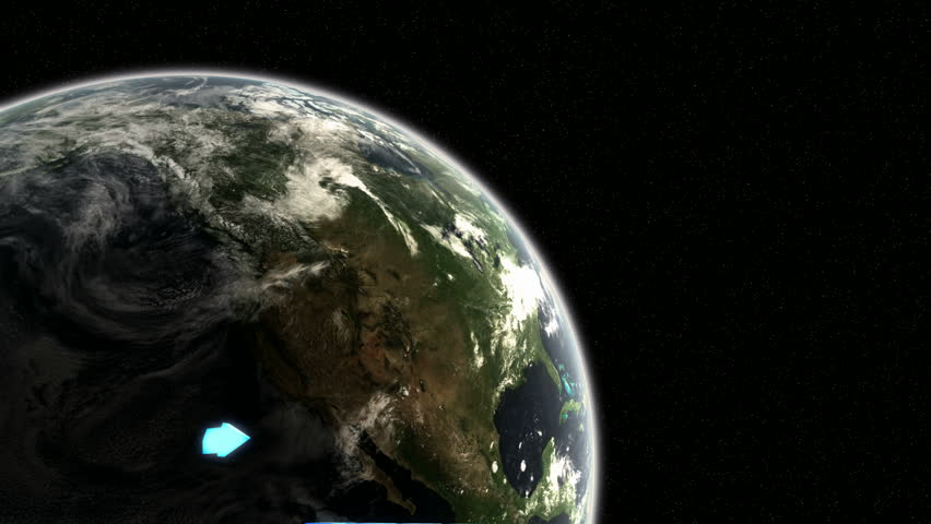 Positive graph with the Sun rising over the Earth  | Shutterstock HD Video #982615