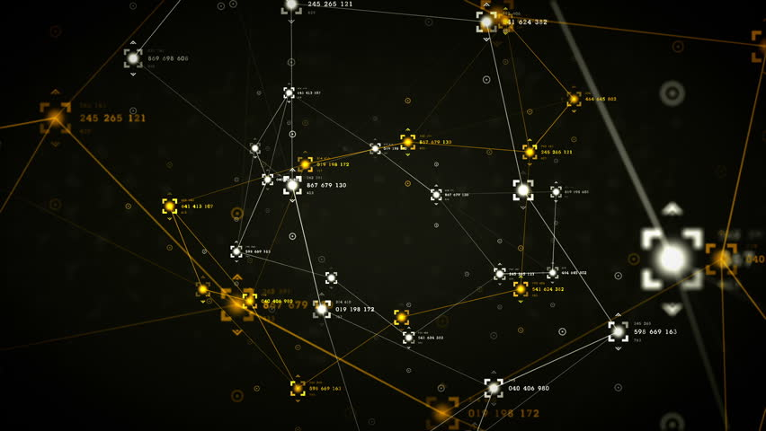 An abstract representation of the nodes and connection paths within networks or systems of networks. All clips are available in multiple color options. All clips loop seamlessly.    Shutterstock HD Video #9841883