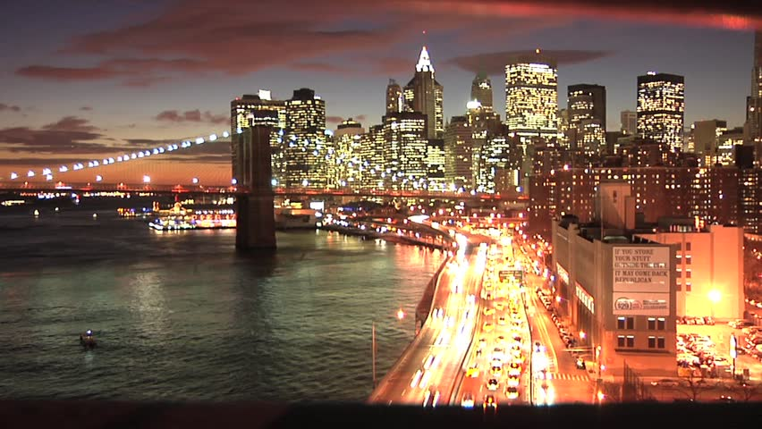 New York overexposed time lapse | Shutterstock HD Video #994528