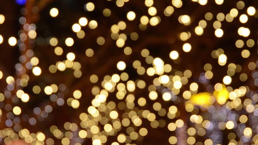 Video Footage Of A Unshap Golden Light Effect Stock
