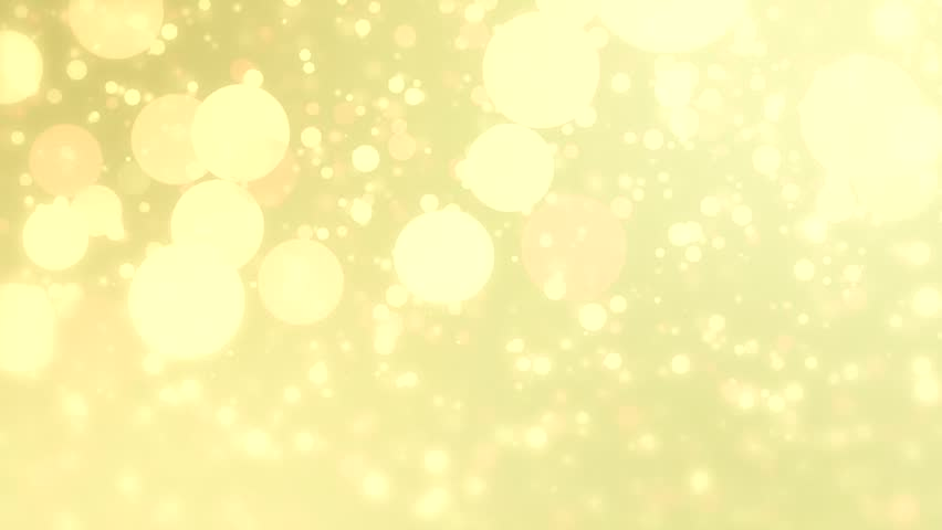 Lights Yellow Bokeh Background High Definition Abstract