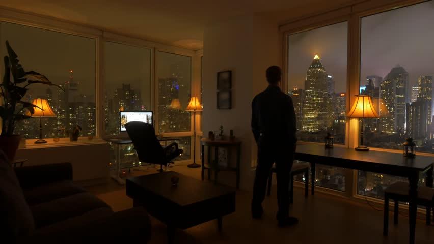 Apartment At Night Online Image Arcade