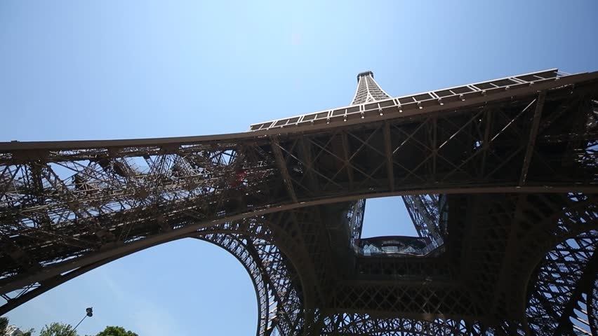 Video footage of the Eiffel Tower in Paris, France | Shutterstock HD Video #9997874