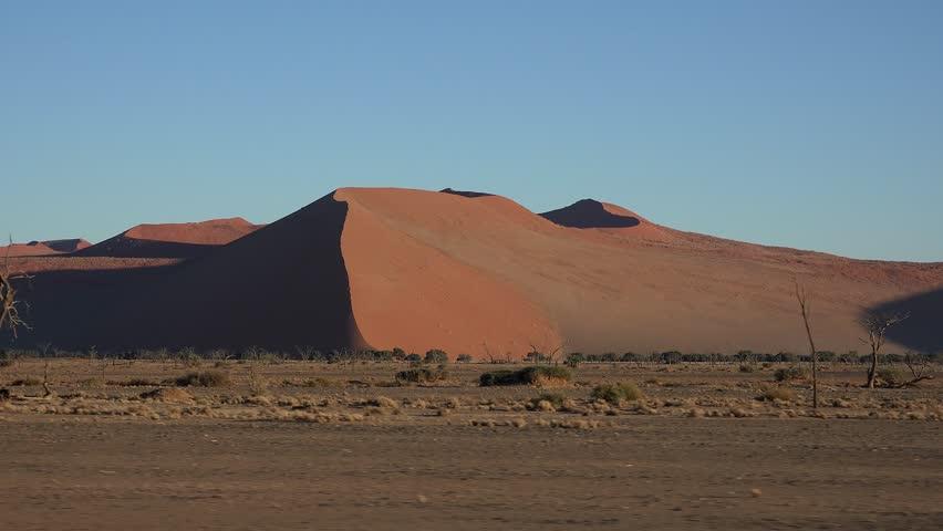 Namib Dessert at Sossusvlei (Namibia)